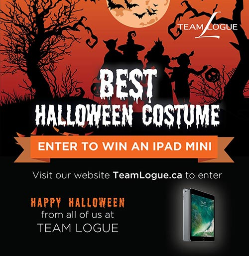 Team Logue | Burlington & Oakville real estate halloween costume