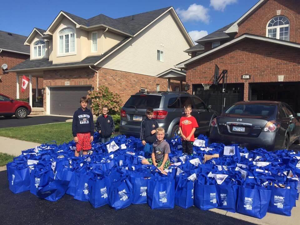 Team Logue   Burlington & Oakville real estate events gift of giving back