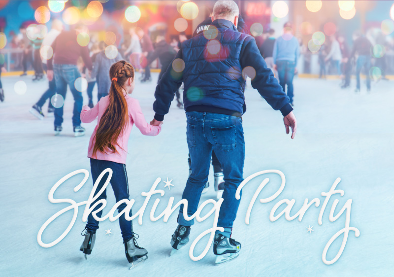 Burlington Family Skating Party | Team Logue Real Estate