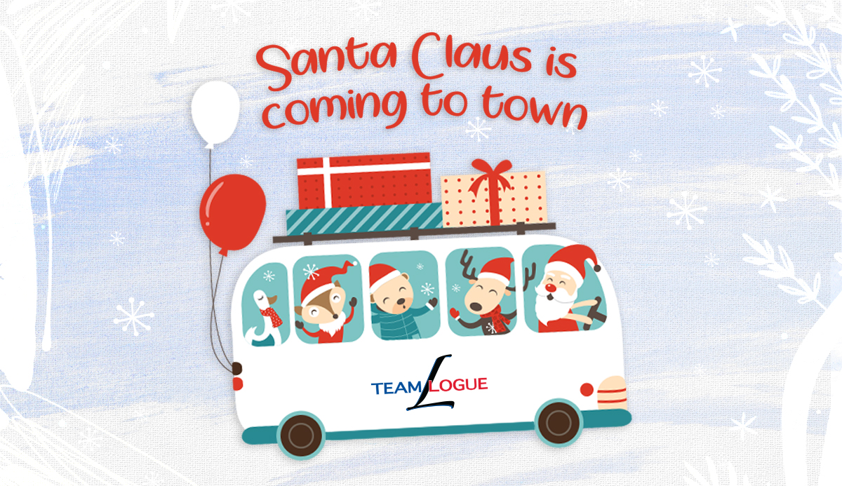 Santa Claus is Coming To Town | Team Logue Christmas 2020